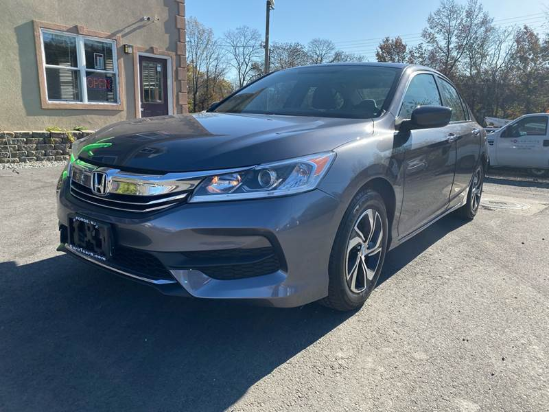 2016 Honda Accord for sale at Euro 1 Wholesale in Fords NJ