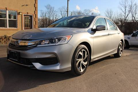 2017 Honda Accord LX for sale at Euro 1 Wholesale in Fords NJ