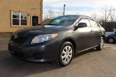 2009 Toyota Corolla LE for sale at Euro 1 Wholesale in Fords NJ
