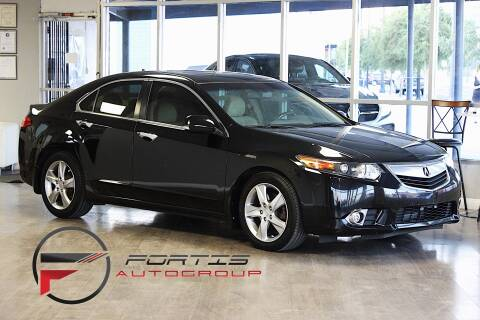 2012 Acura TSX for sale at Fortis Auto Group in Las Vegas NV