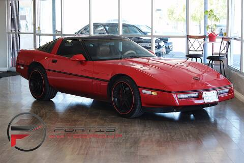 1989 Chevrolet Corvette for sale at Fortis Auto Group in Las Vegas NV