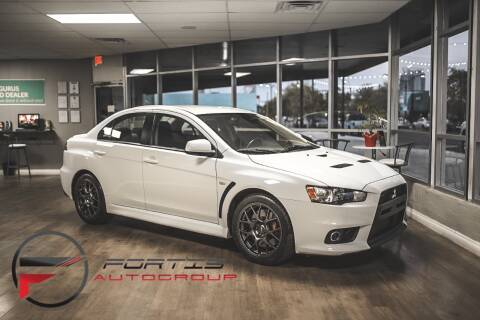 2011 Mitsubishi Lancer Evolution for sale at Fortis Auto Group in Las Vegas NV