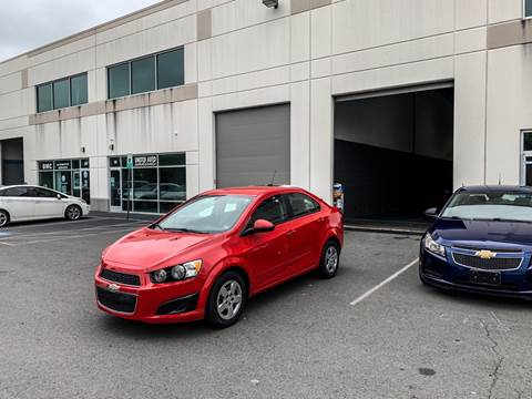 2016 Chevrolet Sonic for sale in Chantilly, VA