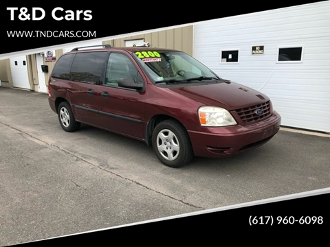 2007 Ford Freestar for sale in Holbrook, MA