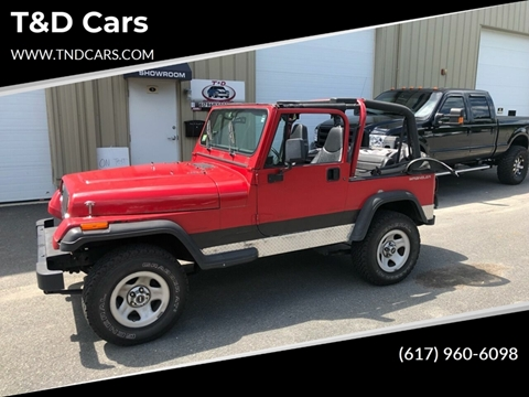1995 Jeep Wrangler for sale in Holbrook, MA