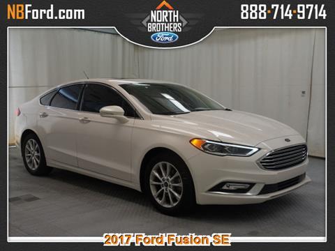 2017 Ford Fusion for sale in Westland, MI