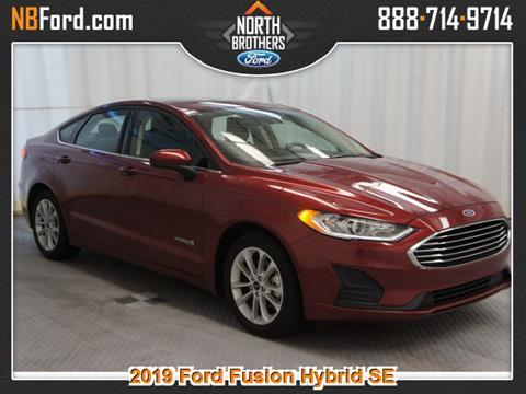 2019 Ford Fusion Hybrid for sale in Westland, MI
