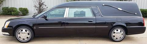 2010 Cadillac DTS Pro Funeral Coach for sale at FRANSISCO & MONROE FUNERAL CAR SALES LLC in Tulsa OK