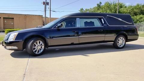 2011 Cadillac DTS Pro Coachbuilder Limo for sale at FRANSISCO & MONROE FUNERAL CAR SALES LLC in Tulsa OK