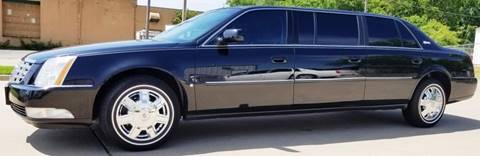 2008 Cadillac DTS Pro for sale at FRANSISCO & MONROE FUNERAL CAR SALES LLC in Tulsa OK