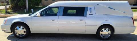 2006 Cadillac DTS Pro for sale at FRANSISCO & MONROE FUNERAL CAR SALES LLC in Tulsa OK