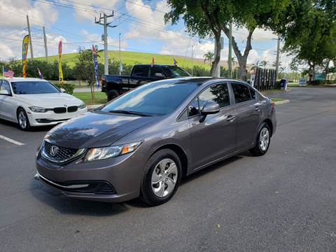 2013 Honda Civic for sale in Pompano Beach, FL