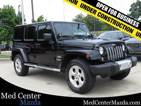 2014 Jeep Wrangler Unlimited for sale in Pelham, AL