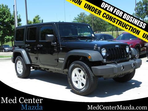 2018 Jeep Wrangler Unlimited for sale in Pelham, AL