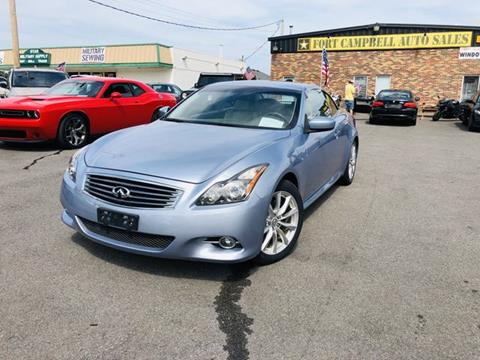 2011 Infiniti G37 Convertible for sale in Clarksville, TN