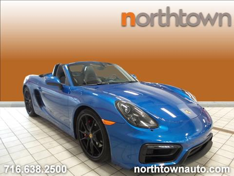 2015 Porsche Boxster for sale in Tonawanda, NY