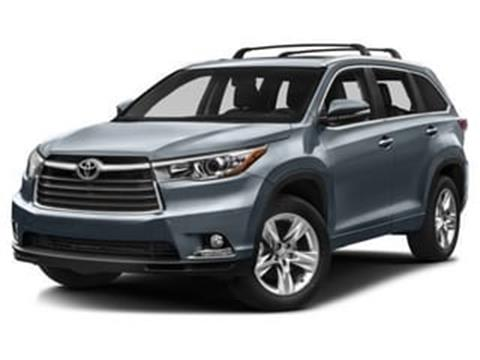 2016 Toyota Highlander for sale in Tonawanda, NY