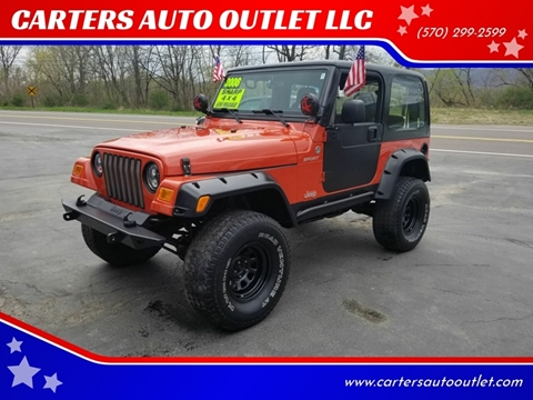 2006 Jeep Wrangler for sale in Pittston, PA
