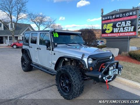 2010 Jeep Wrangler Unlimited for sale in Naperville, IL