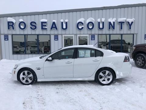 2009 Pontiac G8 for sale in Roseau, MN