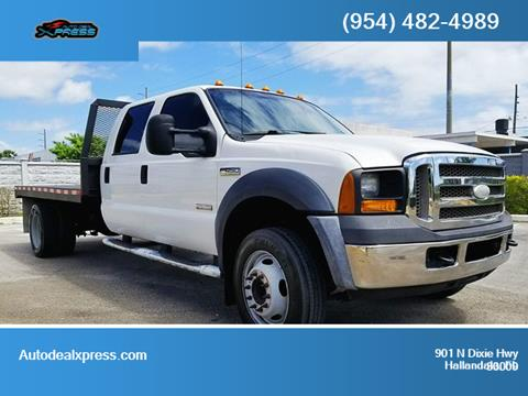 2007 Ford F-450 Super Duty for sale in Hallandale, FL