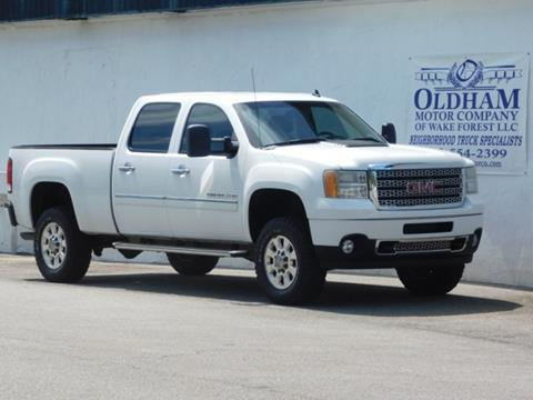 2013 GMC Sierra 2500HD for sale in Wake Forest, NC