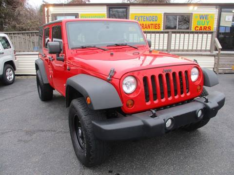 2012 Jeep Wrangler Unlimited for sale at Unlimited Auto Sales Inc. in Mount Sinai NY