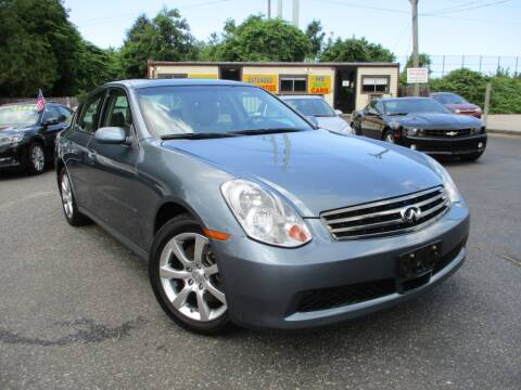 2006 Infiniti G35 for sale at Unlimited Auto Sales Inc. in Mount Sinai NY