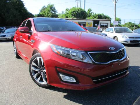 2015 Kia Optima for sale at Unlimited Auto Sales Inc. in Mount Sinai NY