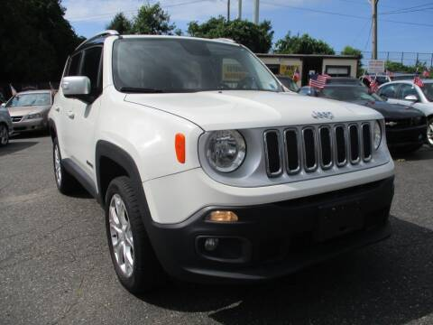 2016 Jeep Renegade for sale at Unlimited Auto Sales Inc. in Mount Sinai NY