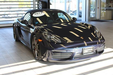 2017 Porsche 718 Boxster for sale in Bellingham, WA