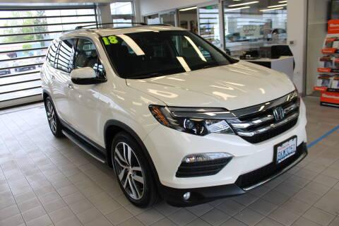 2018 Honda Pilot Elite for sale at Roger Jobs Motors in Bellingham WA