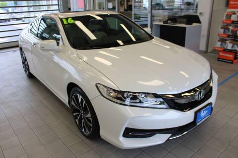 2016 Honda Accord EX-L V6 for sale at Roger Jobs Motors in Bellingham WA