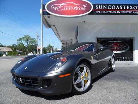 2010 Ferrari 599 GTB Fiorano for sale at Suncoast Exotics in Sarasota FL