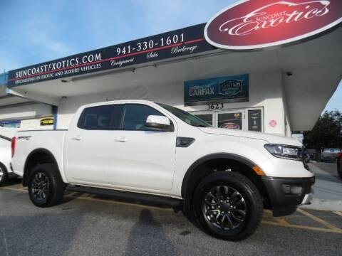 2019 Ford Ranger Lariat for sale at Suncoast Exotics in Sarasota FL