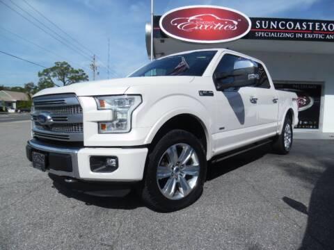 2015 Ford F-150 for sale at Suncoast Exotics in Sarasota FL