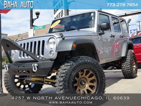 2017 Jeep Wrangler Unlimited for sale in Chicago, IL