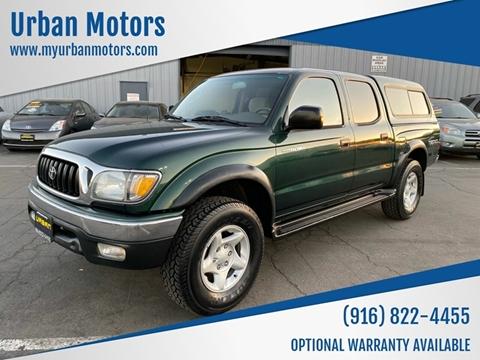 2002 Toyota Tacoma For Sale >> Toyota Tacoma For Sale In Sacramento Ca Urban Motors