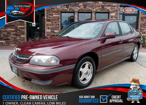 2000 Chevrolet Impala for sale in Massapequa, NY