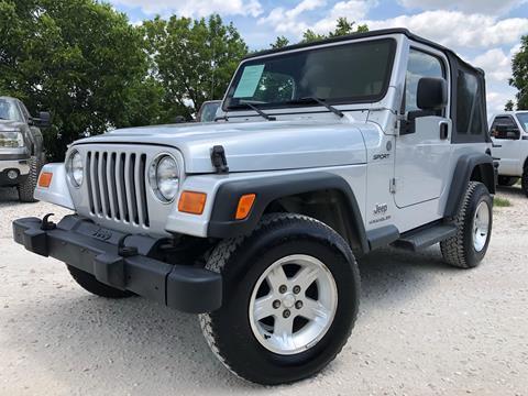 2004 Jeep Wrangler For Sale In Hutto Tx