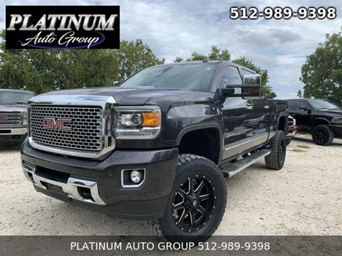 2015 GMC Sierra 2500HD for sale in Hutto, TX