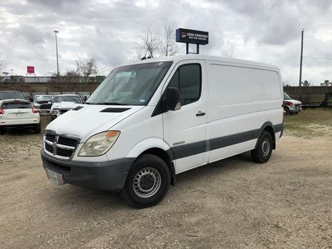Sprinter Van For Sale >> 2008 Dodge Sprinter Cargo For Sale In Houston Tx