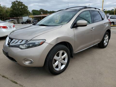 2009 Nissan Murano for sale at Nile Auto in Fort Worth TX