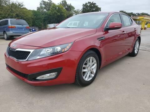 2012 Kia Optima for sale at Nile Auto in Fort Worth TX