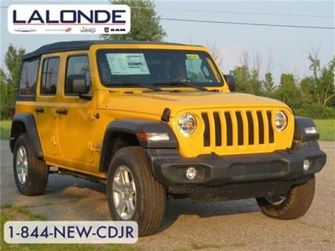 2019 Jeep Wrangler Unlimited for sale in Imlay City, MI