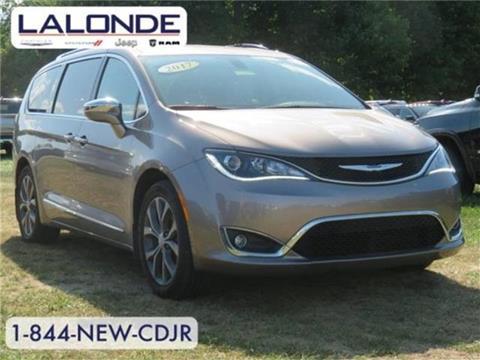 2017 Chrysler Pacifica for sale in Imlay City, MI