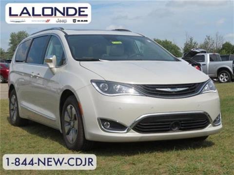 2017 Chrysler Pacifica Hybrid for sale in Imlay City, MI