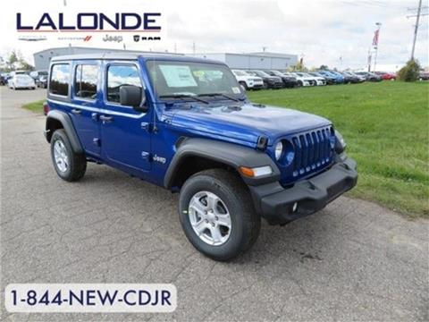 2018 Jeep Wrangler Unlimited for sale in Imlay City, MI