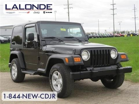 2005 Jeep Wrangler for sale in Imlay City, MI