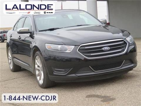 2018 Ford Taurus for sale in Imlay City, MI